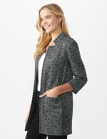 Printed Topper with Notch Collar - 10