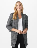 Printed Topper with Notch Collar - 12