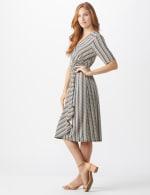 Wrap Striped Dress - Misses - 3