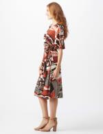 Modern  Wrap Dress - 3