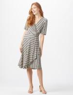 Wrap Striped Dress - Misses - 6