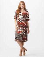 Modern  Wrap Dress - 6
