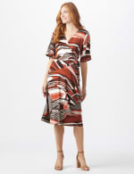 Modern  Wrap Dress - 5