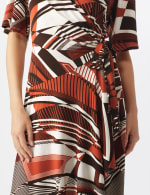 Modern  Wrap Dress - 4