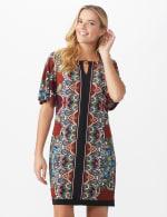 Border Sheath Dress - 5
