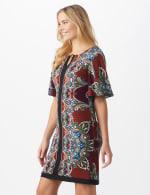 Border Sheath Dress - 3