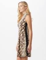 Marina Animal A-Line Dress - 4