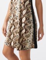 Marina Animal A-Line Dress - 5