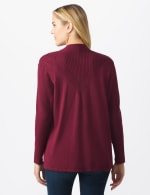 Roz & Ali Everyday Cardigan - Night Sangria - Back