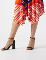 Colorful Striped Dress - 5