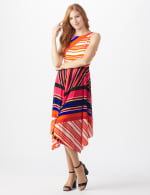Colorful Striped Dress - 7