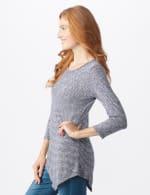 Westport Space Dye Sweater Knit Tunic - 3