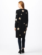 Roz & Ali Scattered Star Duster - Black/White - Back