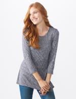 Westport Space Dye Sweater Knit Tunic - 5