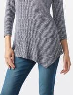 Westport Space Dye Sweater Knit Tunic - 4