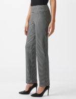Pull On Houndstooth Print Compression Pant - 3