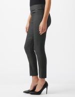 Pull On Pant with Pleather Pocket Detail - 3