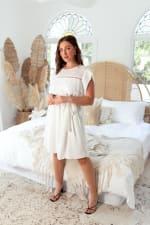 Amber Short Sleeve Sundress Dress - 5