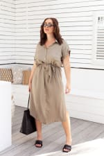 Uma Shirt Maxi Dress - 5