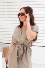 Uma Shirt Maxi Dress - 7