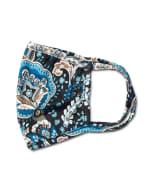 Teal Bohemian Fashion Mask - 3