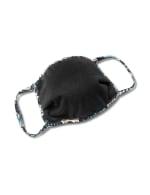 Teal Bohemian Fashion Mask - 2