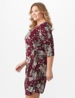 Robin  Floral Wrap Dress - Plus - 3