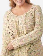 Roz & Ali Novelty Fringe Pullover Sweater - Plus - 5