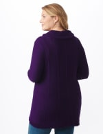 Cowl Neck Fit & Flare Sweater - 2