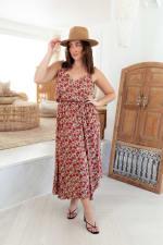 Alizee V-Neck Midi Dress - 5