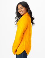 Westport Ottoman Stitch Curved Hem Sweater - 10