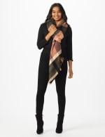 6 Ways to Wear Plaid Ruana - 7