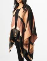 6 Ways to Wear Plaid Ruana - 4