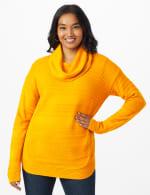 Westport Ottoman Stitch Curved Hem Sweater - 12