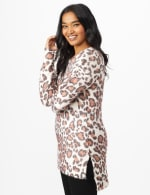 Roz & Ali Eyelash Animal Sweater Tunic - 4