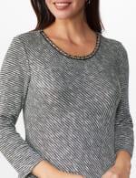Westport Embellished Knit Tunic - 5