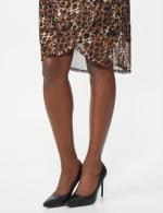 Leopard Wrap Dress - 4