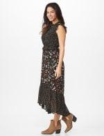 Ditsy Peasant Dress - Misses - 4