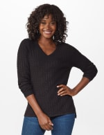 The Roz & Ali Everyday Pullover - Black - Front