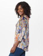 Westport Paisley Knit Top - Misses - 4