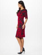 Scroll Sheath Dress - 9