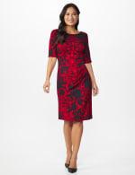 Scroll Sheath Dress - 11