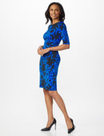 Scroll Sheath Dress - 22