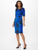 Scroll Sheath Dress - 24
