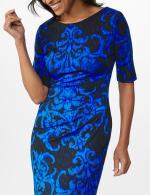 Scroll Sheath Dress - 23
