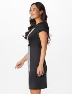 Houndstooth Sheath Dress - 3