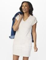 Patch Pocket Sheath Dress - 5