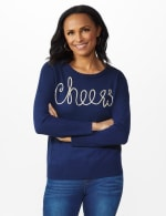Roz & Ali Cheers Pullover Sweater - 6