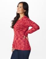 Westport Detachable Scarf Neck Pullover Sweater - 10