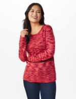 Westport Detachable Scarf Neck Pullover Sweater - 12